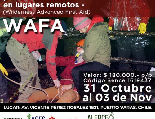 31 Octubre al 03 Noviembre – Certificación WAFA